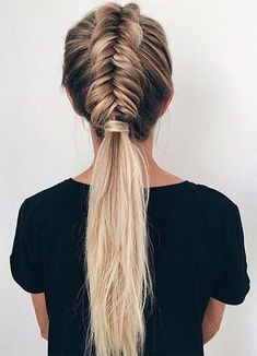 Top 40 Best Sporty Hairstyles for Workout Stylish Sporty Hairstyles for Workout Sporty Hairstyles, Ball Hairstyles, Workout Hairstyles, Straight Hairstyles, Braided Hairstyles, Gorgeous Hairstyles, Hairstyles For Working Out, Long Hair Community, Coiffure Hair