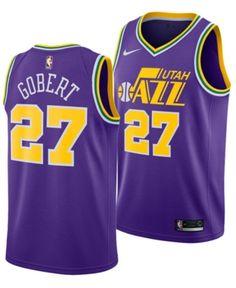 127e7a3a8 Nike Men s Rudy Gobert Utah Jazz Hardwood Classic Swingman Jersey - Purple  XXL Utah Jazz