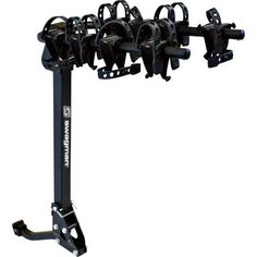Swagman 4-Bike, 2-Arm Hitch Mount Rack - Model# 63380. Arms fold for easy storage. Rack folds down to allow access to rear of vehicle. Universal mount fits both 1 1/4in. and 2in. hitch receivers.
