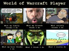 World of Warcraft meme