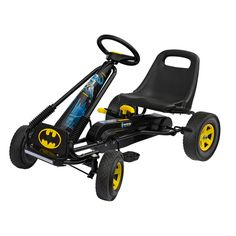 Kart cu pedale go kart batman nordic hoj - BebeCarucior. Go Kart, Batman, Pedal Cars, Tricycle, Baby Strollers, Boys, Plastic, Karting, Baby Prams