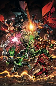 Justice League  #11 by Fernando Pasarin