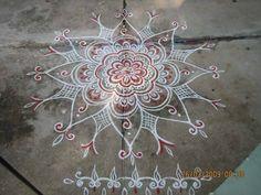Flower Kolam by naga-pree.deviantart.com on @deviantART