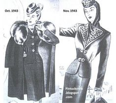 Lilli Ann Suits from the 1940's: the early years @Pintuckstyle.blogspot.com