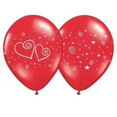 Kärleksballonger <3 Valentines Day, Christmas Bulbs, Holiday Decor, Red, Valentine's Day Diy, Velentine Day, Valantine Day, Valentine's Day, Valentines