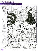 The First to Hatch hidden pictures coloring page Hidden Object Puzzles, Hidden Picture Puzzles, Hidden Objects, Colouring Pages, Coloring Sheets, Coloring Books, Puzzles For Kids, Activities For Kids, Hidden Pictures Printables