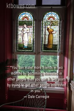"""You can make more friends in two months by becoming interested in other people than you can in two years by trying to get other people interested in you."" #DaleCarnegie"