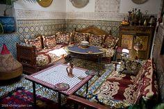 Moroccan House, Fes. Repinned by www.loisjoyhofmann.com