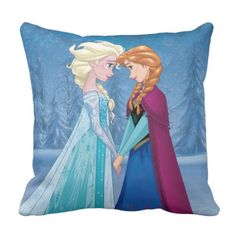 Elsa and Anna - Together Forever Throw Pillow Anna Disney, Disney Princess Frozen, Disney Fan Art, Disney Fun, Frozen Film, Anna Frozen, Disney Gender Bender, Anna Y Elsa, Princess Gifts