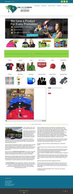 Columbia Promotional Products with Lesesne Industries provides screen printing & embroidery, custom T-shirts, polos, caps and bag, promotional products, and more!