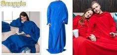 Ξεγνοιάστε      τις κρύες νύχτες του χειμώνα φορώντας την πρακτική φλις κουβέρτα Snuggie, με μανίκια, η οποία είναι κατάλληλη για παιδιά και για      ενήλικες! One size      φλις κουβέρτα, σε τέσσερα χρώματα (μπλε, κόκκινο, ροζ, μαύρο) και      διαστάσεων 175 x 155 cm. Δυνατότητα αποστολής σε όλη την Ελλάδα. Office Table, Blanket, Sleeves, Dresses, Fashion, Vestidos, Moda, La Mode, Fasion