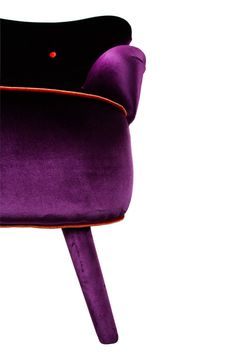 Penelope Purple And Silver Louis Armchair By Out There Interiors | Home  Decor   Furniture | Pinterest | Purple Chair, Armchairs And Interiors