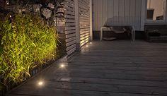 Belysning vid altanen