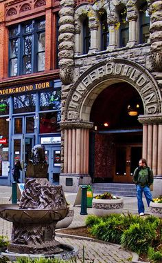 Pioneer Square   Travel   Vacation Ideas   Road Trip   Places to Visit   Seattle   WA   Squares