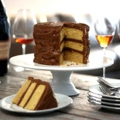 CARAMEL LAYER CAKE (and the winner of the Southern Cakes and Southern Pies cookbooks...)