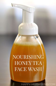 Need the best nourishing DIY face wash recipe? This homemade facial cleanser use… Need the best nourishing DIY face wash recipe? This homemade facial cleanser user honey, herbal tea, castile soap and essential oils to pamper skin. Homemade Skin Care, Diy Skin Care, Homemade Beauty, Skin Care Tips, Homemade Face Cleanser, Natural Facial Cleanser, Honey Face Cleanser, Homemade Face Wash, Homemade Facials