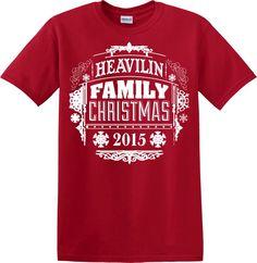 Christmas Family Pajamas Red Shirt