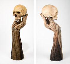 Christopher David White, Surreal Ceramics That Look Like Wood