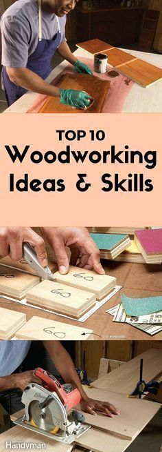 Our best woodworking ideas, tips and tricks. Read this collection of carpentry basics to learn woodworking for beginners. #WoodworkingTools #woodworkdecor #woodworkingtips #woodworkingideas