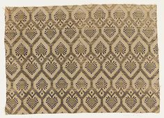 Fragment Date: late 16th century Culture: Italian Medium: Silk Dimensions: Overall: 14 1/2 x 20 3/8 in. (36.8 x 51.8 cm)