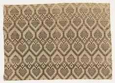 Fragment Date: late 16th century Culture: Italian Medium: Silk Dimensions: Overall: 14 1/2 x 20 3/8 in. (36.8 x 51.8 cm)