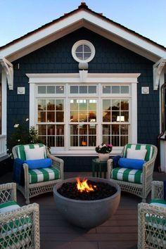 Coastal Style Deck