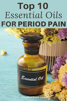 Getting started with essential oils for menstrual cramps? Then this list of the 10 best oils can help support your menstrual cycle. Learn their benefits, plus how to use them as natural remedies for period pain. Essential Oil Blends, Essential Oils, Copaiba Oil, Best Oils, Menstrual Cycle, Boost Metabolism, Natural Remedies, Period, Beauty Hacks