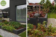 Pihasuunnittelu | GREEN IDEA | Oulu, Helsinki, Rovaniemi, Turku, Tampere, Kuopio Helsinki, Outdoor Spaces, Aquarium, Garden, Inspiration, Outdoor Living Spaces, Goldfish Bowl, Biblical Inspiration, Garten