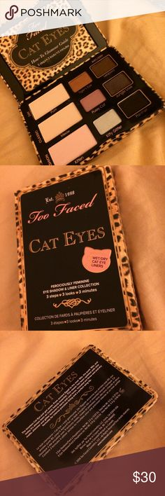 Too Faced: Cat Eyes Collection Palette Brand new and unused with looks guide. Too Faced Makeup Eyeshadow