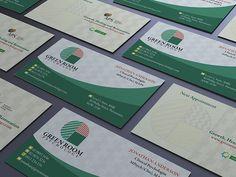 Green Room Psychology Logo&Business Card on Behance