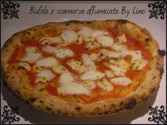 Pizza Bufala e scamorza affumicata