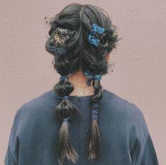 Hair Inspo, Hair Inspiration, Eye Makeup, Hair Makeup, Hair Arrange, Aesthetic Hair, Pretty Hairstyles, Kawaii Hairstyles, Hair Looks