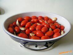 studená PEČENÁ CHERRY RAJČÁTKA - úžasné, jednoduché, oslníte!! Plum, Cherry, Vegetables, Fruit, Food, Essen, Vegetable Recipes, Meals, Prunus