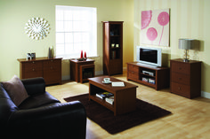 Mountrose Fuse living room range is a fusion of traditional and contemporary styling with its warm finishes and completed with panelled detailing and square chrome handles. http://www.home-outlet.co.uk/catalogsearch/result/?q=fuse