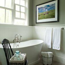 farmhouse bathroom by jamesthomas, LLC