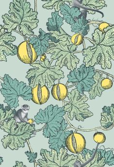 Whimsical Wallpaper from Fornasetti