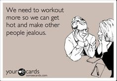 The REAL reason the majority of people workout...nothing wrong with that.