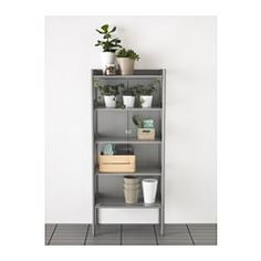 IKEA - HINDÖ, Greenhouse/cabinet, indoor/outdoor, Use this greenhouse for growing your own vegetables, fruit and herbs, and for storing pots, herb scissors and other accessories you want close at hand.You can adjust the height of the shelves to suit your needs.Stands evenly on an uneven floor since the feet can be adjusted.The greenhouse/storage cabinet is durable, easy to clean and protected from rust, as it is made of powder-coated steel.