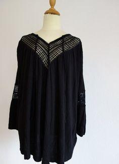 Kaufe meinen Artikel bei #Kleiderkreisel http://www.kleiderkreisel.de/damenmode/tuniken/152843514-hm-mamatop-gr-s-tunika-schwarz-umstandsmode