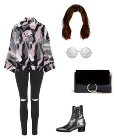 """""""70s Chic ⚫️"""" by aracely-munoz on Polyvore featuring Topshop, J.W. Anderson, Modern Vice, Chloé, modern, 70s, alexachung and ModernViceContest"""