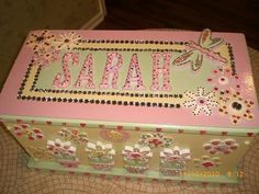 personalized childrens toy chest by CoutureCrafts4Kids on Etsy, $250.00