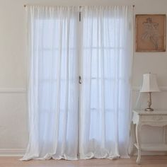 Cottage Linen Curtain