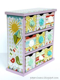 PaperVine: Fine & Sunny Drawers / Kaisercraft Winner