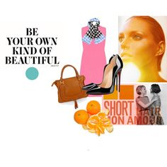 Untitled #3 by nazellaghaniyaa on Polyvore featuring Victoria, Victoria Beckham, Christian Louboutin, Chloé, Diane Von Furstenberg, WallPops, Anja and Capelli New York