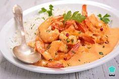 Receta de Camarones en salsa de mayonesa #RecetasGratis #RecetasFáciles #RecetasdeCocina #RecetasconPescado #PescadoyMarisco #RecetasconMarisco #Camarones #Mayonesa