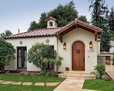Mediterranean Homes Exterior, Mediterranean Architecture, Mediterranean Home Decor, Tuscan Style Homes, Spanish Style Homes, Tuscan House, Spanish Revival, Spanish Colonial, Spanish House Design