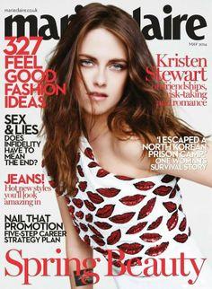 Kristen Stewart para Marie Claire.