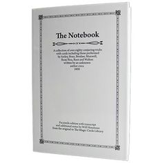 The Notebook by Will Houstoun - Book