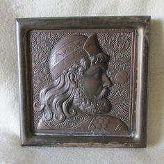 Antique Aesthetic Movement, Orientalist Architectural Plaque, Cast Iron