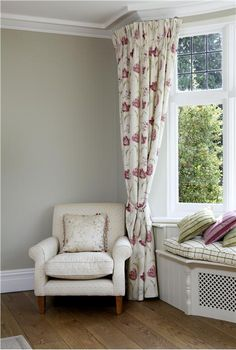 An inspirational image from Farrow and Ball.  Wall colour clunch - for the lounge?